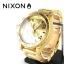นาฬิกา NIXON Men Chronograph Chronograph Gold Dails Watch A083502 48-20 thumbnail 2