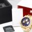 นาฬิกา NIXON Men Chronograph Chronograph Blue Gold Dails Watch A4861922 48-20 thumbnail 6