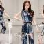 Seoul Secret Say's... Sapphire Blue Leafly Print Set thumbnail 6