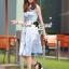Seoul Secret Say's... Sweety Soft Blue Denim Dress thumbnail 1