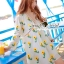 Seoul Secret Say's... Chic Yellow Blossom Sweety Dress thumbnail 1