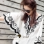 Seoul Secret Say's... Curly Stick Girly Bell Sleeves LOng Blouse thumbnail 8