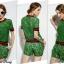 Sweet Bunny Present... Gucci Green Lace Short Set thumbnail 5
