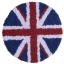 พรมแฟนซี ลายธงชาติอังกฤษทรงกลม thumbnail 1