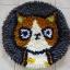 พรมแฟนซี ลาย Lovely cat thumbnail 5
