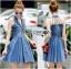 Lady Ribbon's Made Lady Jane Smart Sexy Sleeveless Denim Shirt Dress thumbnail 4