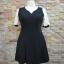 พร้อมส่งชุดดำ สำหรับสาวอวบ++ F 36-42นิ้ว T5100 thumbnail 6