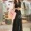 Cliona made'Princess Miyakey Luxury Dress B&W สีดำ thumbnail 1