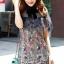 Seoul Secret Say's... Nista Party Flora Stickly Lace Dress thumbnail 7