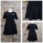 ชุดดำพร้อมส่ง สำหรับสาวอวบ++ F 36-43 นิ้ว T5108 thumbnail 2
