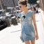 Seoul Secret Say's... Diamond Soft Denim Dress thumbnail 5