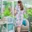 5XL ชุดเดรสสาวอวบ++ผ้าkorea print ทอลายดอกโทนสีชมพู จุดเด่นของชุดนี้ ดีไซน์กั๊กสุดเก๋ ติดโบว์ thumbnail 15
