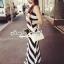 "Seoul Secret Say's... ""Chic Stripy Maxi Knit"" thumbnail 2"