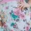 5XL ชุดเดรสสาวอวบ++ผ้าkorea print ทอลายดอกโทนสีชมพู จุดเด่นของชุดนี้ ดีไซน์กั๊กสุดเก๋ ติดโบว์ thumbnail 14