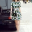 Cliona made' Grammy Square Line Shirt Dress thumbnail 2