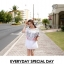 Korean ethnic stitching lace mini dress thumbnail 4