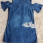 Dress jeans print stars dress Korea by Aris Code thumbnail 7