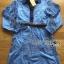 Lady Ribbon's Made Gucci Blue Denim Cotton and Lace Shirt Dress thumbnail 5