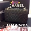 Chanel Classic 10นิ้ว สีดำ CARVIER LEATHER thumbnail 4
