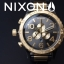 นาฬิกา NIXON Men Chronograph Chronograph Black Gold Dails Watch A083595 48-20 thumbnail 7