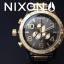 นาฬิกา NIXON Men Chronograph Chronograph Black Gold Dails Watch A083595 48-20 thumbnail 7