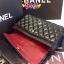 Chanel classic 10นิ้ว สีดำ หนังLampskin thumbnail 7