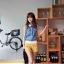 เสื้อแฟชั่น แขนกุด ผ้ายีนส์ คอปกผ้าตาข่าย เสื้อสีน้ำเงิน รหัส 44137-น้ำเงิน thumbnail 2