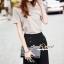 Seoul Secret Say's... Slantly Blouse Pants Set thumbnail 2