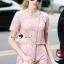 Seoul Secret Say's... Pastel Pink Circlely Lace Stylish Set thumbnail 4