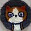 พรมแฟนซี ลาย Lovely cat thumbnail 7