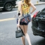 Korea Design By Lavida aristocrat yellow printed sleeveless top short pants chic set thumbnail 4