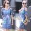 Dress jeans print stars dress Korea by Aris Code thumbnail 5