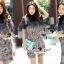 Seoul Secret Say's... Nista Party Flora Stickly Lace Dress thumbnail 3