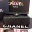 Chanel classic 10นิ้ว สีดำ หนังLampskin thumbnail 8