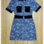 Military denim dress by Sweet Bunny thumbnail 5
