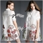 Lady Ribbon's Made Lady Claire Flower Embroidered Organza and Cotton Shirt Dress thumbnail 4