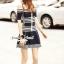 Seoul Secret Say's... Chic Stripy Knitty Dress thumbnail 3