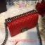 Chanel Boy สีแดง 8 นิ้ว thumbnail 3