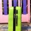 กระเป๋าเดินทางลายเพชร ขนาด 20 นิ้ว สีเขียว thumbnail 3