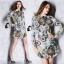 ClioNa made' Nadia Colorful Long Shirt Dress thumbnail 3