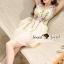 Seoul Secret Say's... Violatta Bloom Creamy Cami Dress thumbnail 2