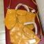 Longchamp Le Pliage Cuir สีเหลือง มีSize S,M,L thumbnail 3