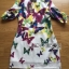 Lady Ribbon's Made Lady Amanda Smart and Sexy Colourful Butterfly Printed Dress thumbnail 5