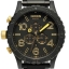 นาฬิกา NIXON Men Chronograph Chronograph Black Gold Dails Watch A0831041 48-20 thumbnail 1