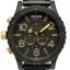 นาฬิกา NIXON Men Chronograph Chronograph Black Gold Dails Watch A0831041 48-20 thumbnail 1