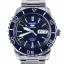 นาฬิกา Seiko Automatic Sports Mens Diver Watch Blue SNZH53K1 thumbnail 1
