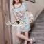 Seoul Secret Say's... Pastel Vintage Tiggy Softly Denim Dress thumbnail 3
