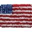 พรมเช็ดเท้า แฟนซี ลาย ธงอเมริกา M thumbnail 1