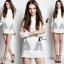 Cliona made' Inca Luxury Long Sleeves Shirt Mini Dress thumbnail 2