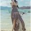 Lady Emma Sexy Summer Paisley Printed Maxi Dress thumbnail 3